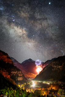 Ouray Cosmic Fireworks