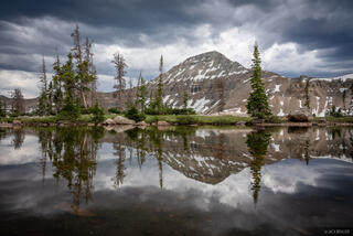 Bear River, High Uintas Wilderness, McPheters Lake, Middle Basin, Mount Agassiz, Stillwater Fork, Uintas, Utah