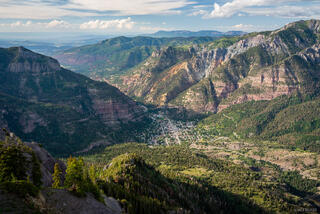 Colorado, Ouray, San Juan Mountains