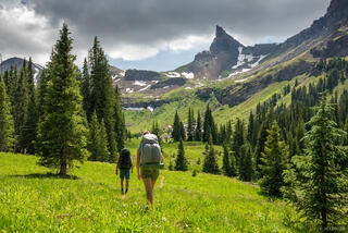 Cimarrons, Colorado, Coxcomb Peak, Middle Fork, San Juan Mountains, Uncompahgre Wilderness, hiking