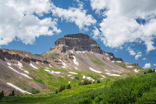 Uncompahgre Peak Clouds