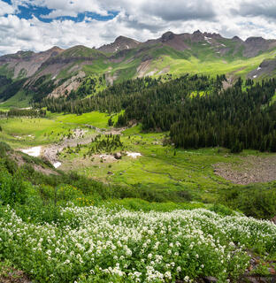 Colorado, San Juan Mountains, Uncompahgre Wilderness, Cimarrons