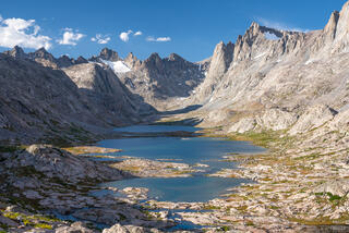 Bridger Wilderness, Mount Helen, Titcomb Lakes, Wind River Range, Wyoming