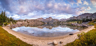 Bridger Wilderness, Cook Lakes, Mount Lester, Wind River Range, Wyoming