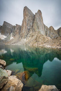 Bridger Wilderness, Lake Donna, Pronghorn Peak, Wind River Range, Wyoming