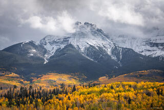 Colorado, San Juan Mountains, aspens, autumn