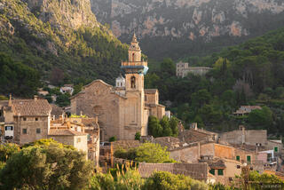 Cathedral in Valldemossa