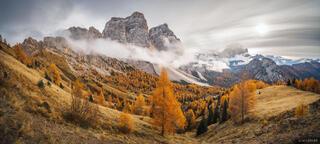 Monte Pelmo Autumn Panorama