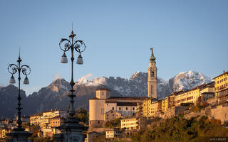 Belluno, Italy, November, Dolomites, Alps