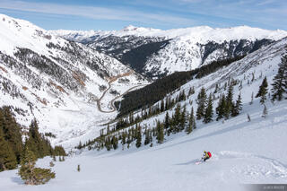 Chatanooga, Colorado, Kyle, San Juan Mountains, skiing