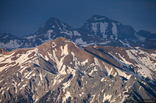 Colorado, San Juan Mountains, Uncompahgre Peak, Uncompahgre Wilderness, Wetterhorn Peak