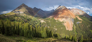 Colorado, El Diente, Gladstone Peak, Lizard Head Wilderness, San Juan Mountains, San Miguel Range, rainbow
