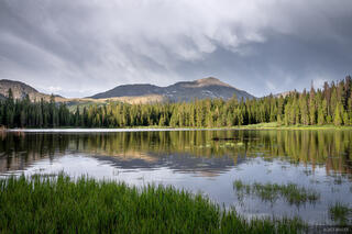 Collegiate Peaks Wilderness, Colorado, Hartenstein Lake, Mount Yale, Sawatch Range, 14er