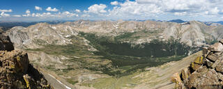 Collegiate Peaks Wilderness, Colorado, Missouri Basin, Mount Harvard, Sawatch Range