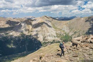 Collegiate Peaks Wilderness, Colorado, Mount Belford, Mount Harvard, Sawatch Range, hiking, 14ers