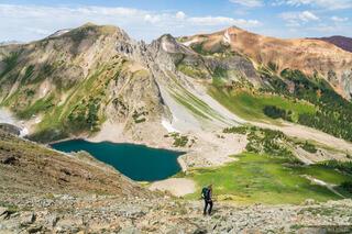 Capitol Lake, Colorado, Elk Mountains, Maroon Bells Snowmass Wilderness, hiking