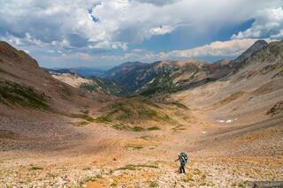 Colorado, Elk Mountains, Maroon Bells Snowmass Wilderness, hiking