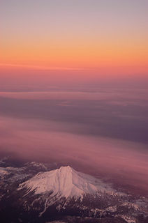 aerial, Mount Jefferson, Oregon