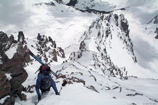 Cathedral Peak, Elk Mountains, Colorado, Maroon Bells-Snowmass Wilderness
