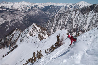 Ragged Mountains, ski descent, Colorado