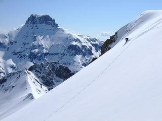 Potosi Peak, skiing