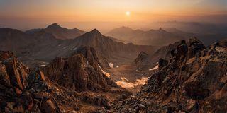 Colorado, Gladstone Peak, Lizard Head Wilderness, Mount Wilson, San Juan Mountains, Wilson Peak