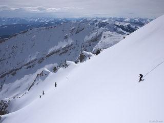 Martini, Jackson Hole, Wyoming, snowboarding