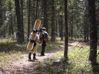 Tetons, Wyoming, snowboarding, hiking