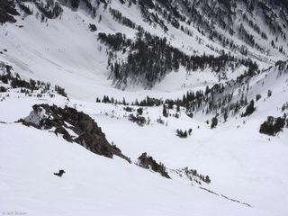 Static Peak, Tetons, Wyoming, snowboarding