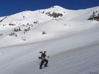 Static Peak, Tetons, Wyoming, hiking, snowboarding