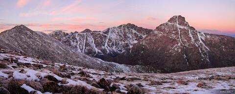 Holy Cross Dawn Panorama