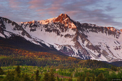 Mears Peak Alpenglow