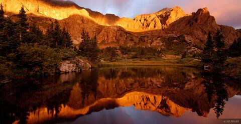 Milwaukee Peak Reflection