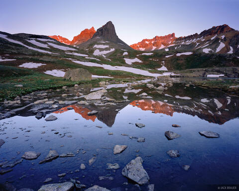 Ice Lakes Basin Reflection