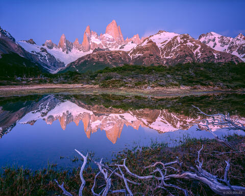 Monte Fitz Roy Reflection
