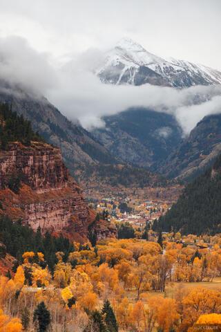 Ouray Stormy Autumn #2