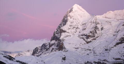 Eiger after Sunset