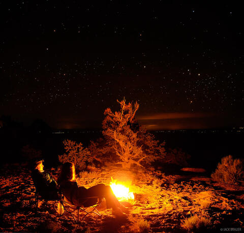 Bonfire Under the Stars