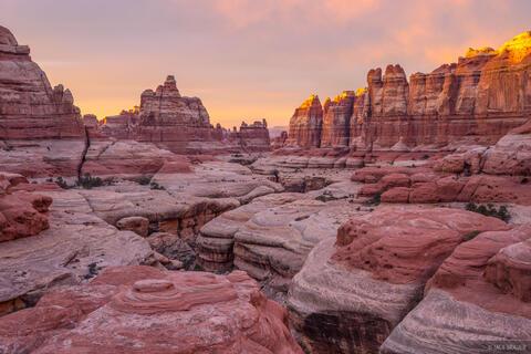 Elephant Canyon Sunset