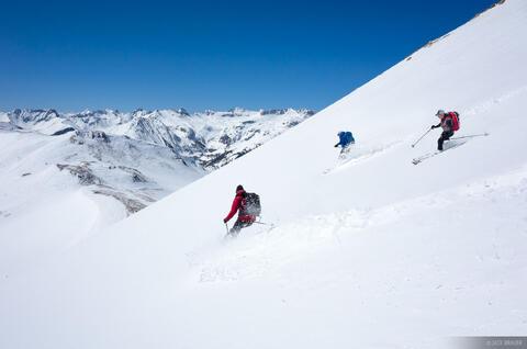 Skier Trio