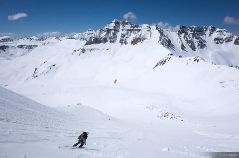 Skiing Sneffels 2
