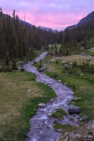 Huerfano River Sunset