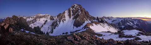 Mount Sneffels Dusk Panorama