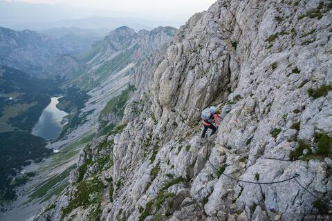 Climbing Bobotov Kuk