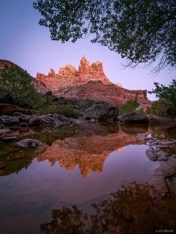 Dark Canyon Reflection