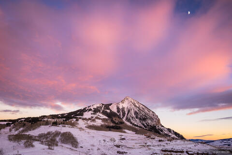Crested Butte November Sunset