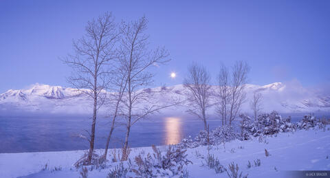 Timpanogos Winter Moonset