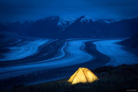 Backpacking in Kluane National Park