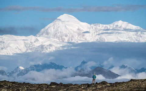 A View of Denali from Kesugi Ridge