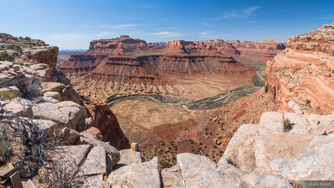 Mexican Bend Pano